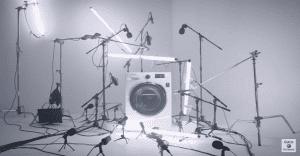 ¿Cómo suenan la mayoría de lavadoras?
