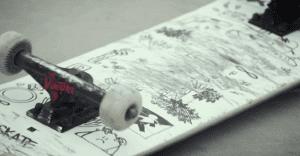 Tablas de skate para ayudar a niños a vencer sus temores y pesadillas