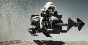 Escenas de La Guerra de las Galaxias recreadas con LEGO en esta genial colección