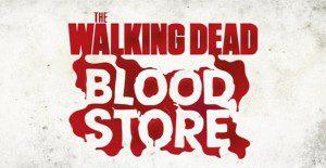 Una tienda de The Walking Dead donde se paga con sangre