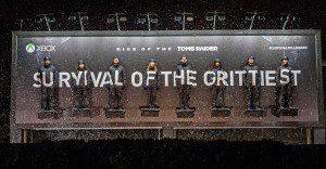 Un billboard de Tomb Raider hecho, literalmente, con los fanáticos de esta saga