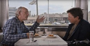 Doc Brown y Marty McFly, reunidos nuevamente