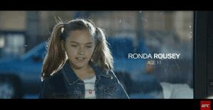 El combate entre Ronda Rousey y Holly Holm en un fabuloso spot