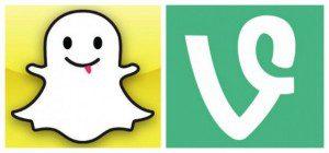 Chat, videoconferencias y un rediseño de web: Conoce las últimas novedades de Vine y Snapchat