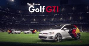 Volkswagen recrea la victoria de Alemania sobre Argentina con un partido con carros