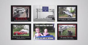Una campaña de que busca quitar la mala fama de conductoras que las mujeres tienen