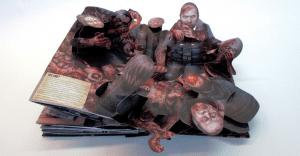 Un libro pop up que promociona la nueva temporada de The Walking Dead