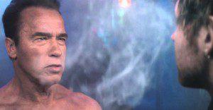 Arnold Schwarzenegger revive unas de las escenas más conocidas de Terminator