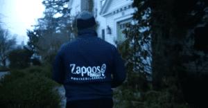 Una acción de Zappos que llevó al público el calor de la navidad
