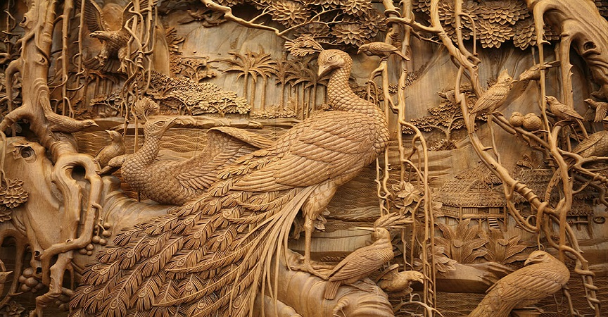 con races que se remontan hasta la dinasta tang el arte chino de dongyang de tallar madera es considerado por muchos como una de las formas ms elegantes