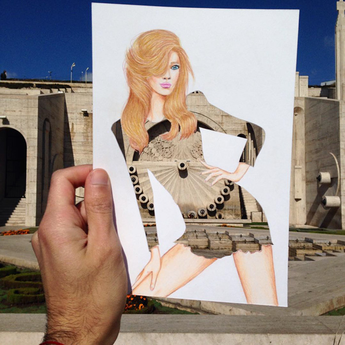 artista-lleva-diseño-de-modas-a-otro-nivel-el-resultado-es-impresionante-edificio