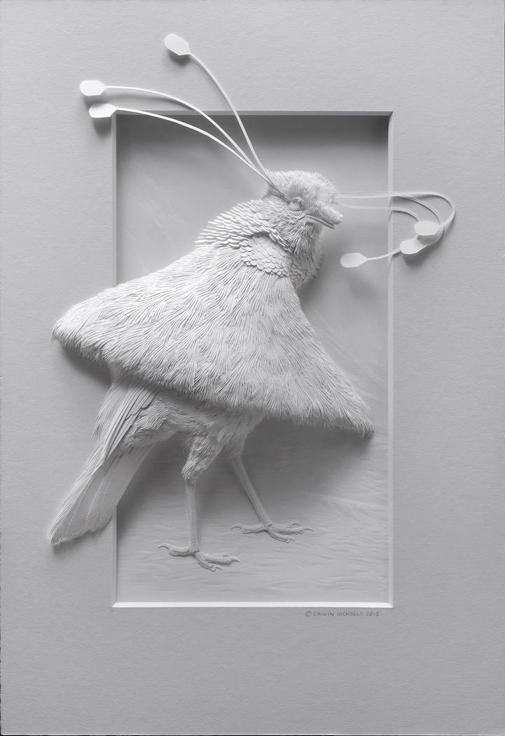 artista-transforma-el papel-en-animales-zoológico-1