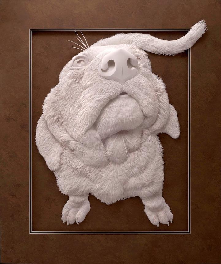 artista-transforma-el papel-en-animales-zoológico-6