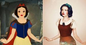Así se verían las princesas de Disney si fueran reales
