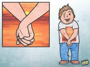 Divertidas ilustraciones con un significado más literal