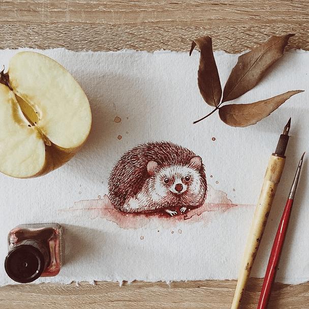 encantadoras-ilustraciones-hechas-con-tinta-y-acuarela-8