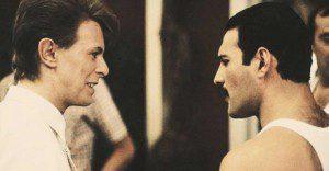 """La historia cómo Freddie Mercury y David Bowie crearon """"Under Pressure"""""""