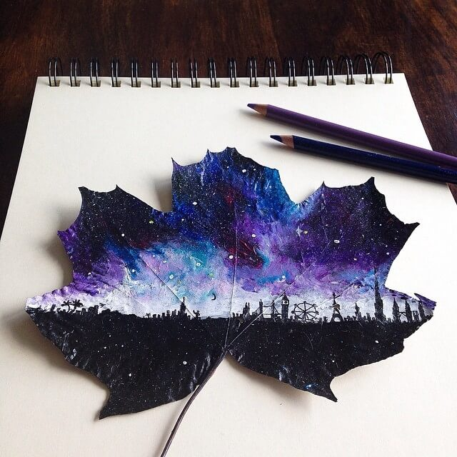 arte-pinturas-hojas-secas
