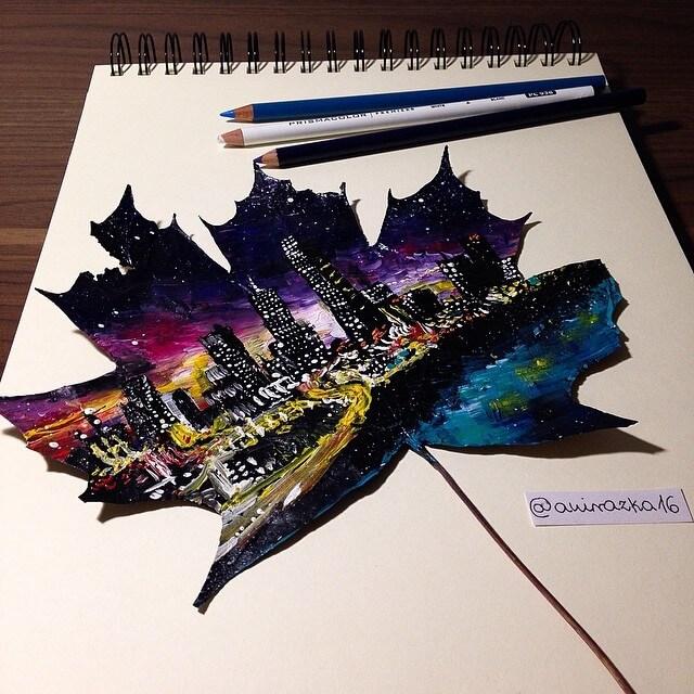 arte-pinturas-hojas-secas-1