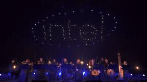 La 5ª Sinfonía de Beethoven presentada en un espectáculo comandado por 100 drones