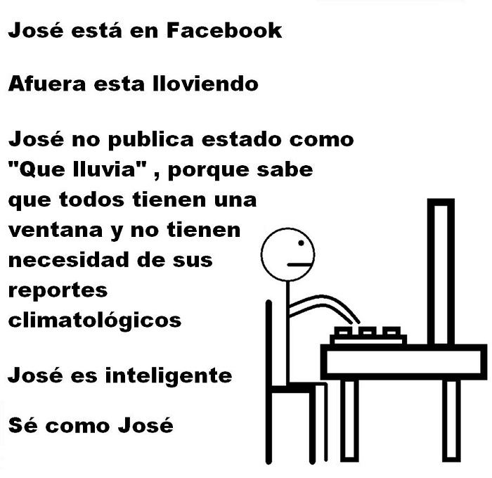 José el inteligente en facebook
