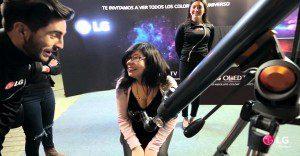 Una broma de LG que nos lleva a las estrellas para mostrarnos la nitidez de sus televisores