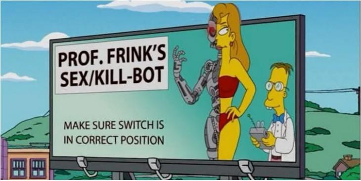 los simpson profesor flik