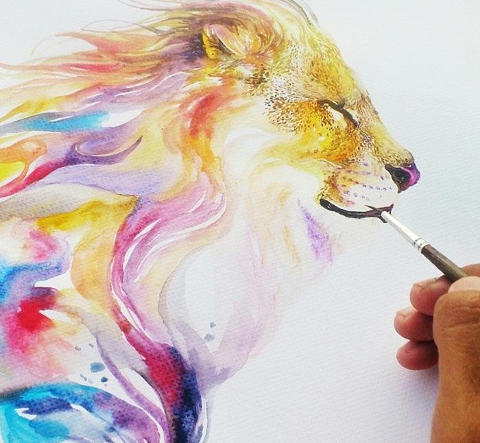 pinturas-acuarela-dan-vida-hermosos-animales-1