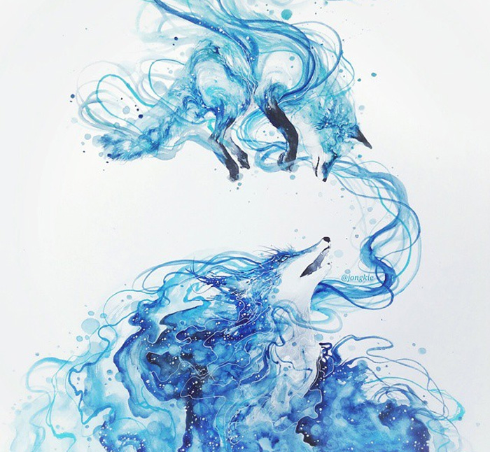 pinturas-acuarela-dan-vida-hermosos-animales-10