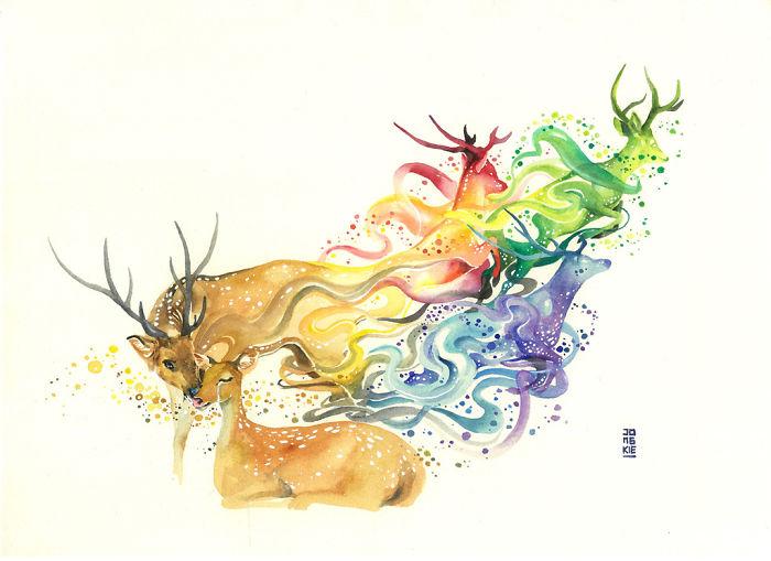 pinturas-acuarela-dan-vida-hermosos-animales-11