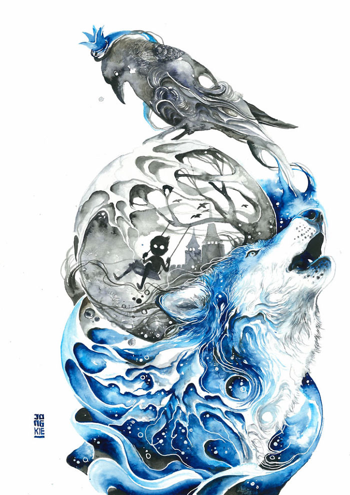 pinturas-acuarela-dan-vida-hermosos-animales-12