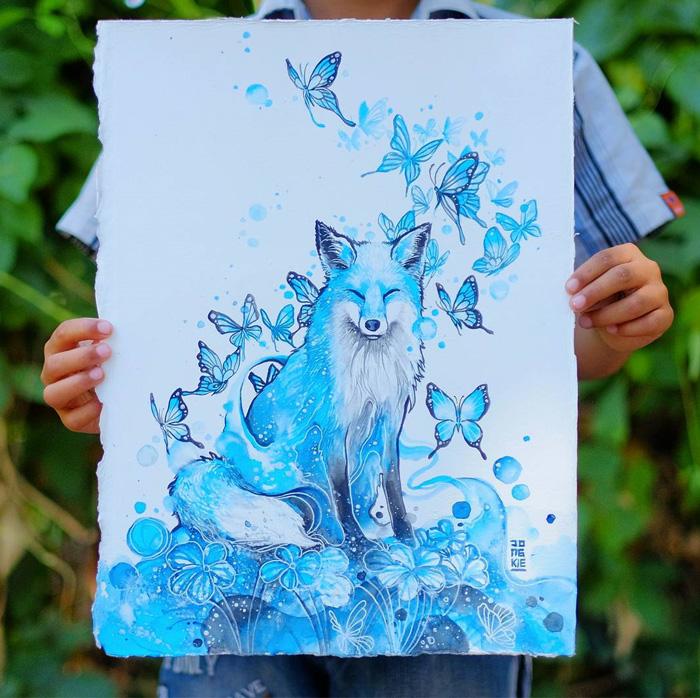 pinturas-acuarela-dan-vida-hermosos-animales-19