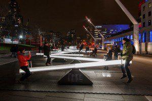 Sube y bajas musicales en las calles de Montreal