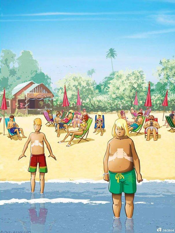 serie-de-ilustraciones-demuestran-la-gran-adicción-que-tenemos-hacia-la-tecnología-12
