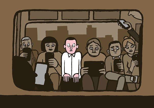 serie-de-ilustraciones-demuestran-la-gran-adicción-que-tenemos-hacia-la-tecnología-17
