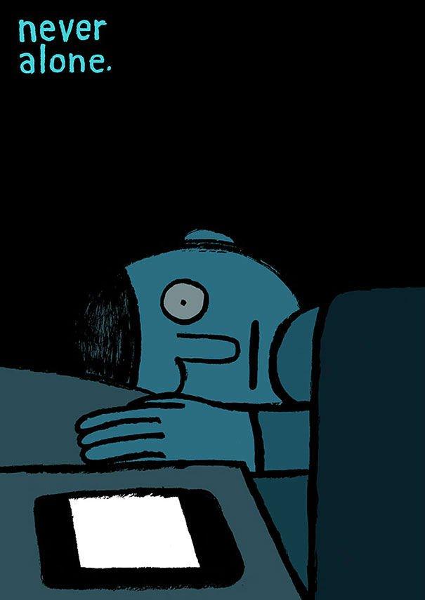 serie-de-ilustraciones-demuestran-la-gran-adicción-que-tenemos-hacia-la-tecnología-18