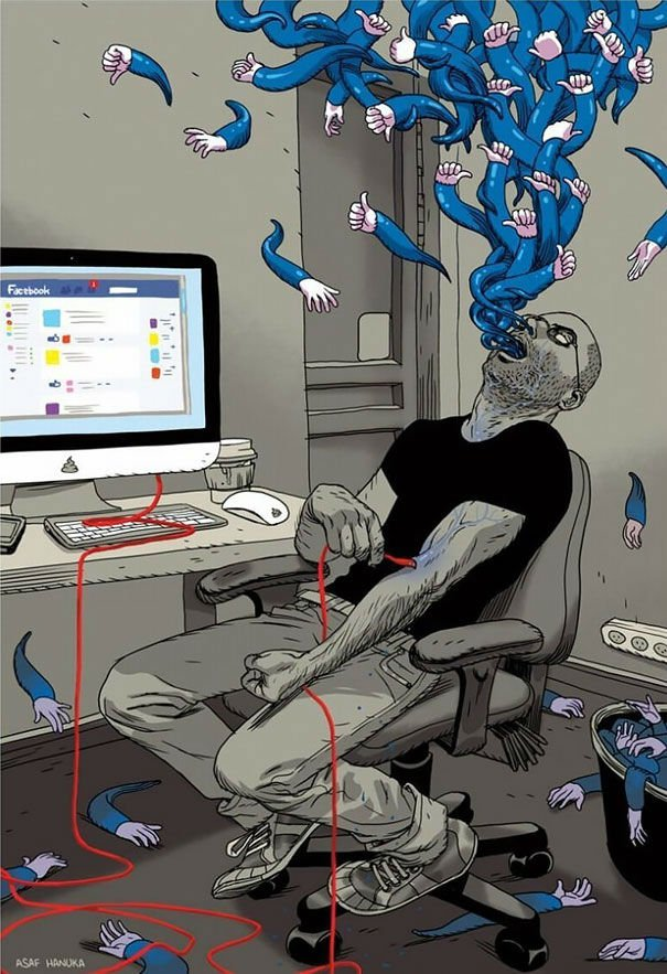 serie-de-ilustraciones-demuestran-la-gran-adicción-que-tenemos-hacia-la-tecnología-19