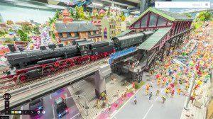El Street View del mini ferroviario más grande del mundo