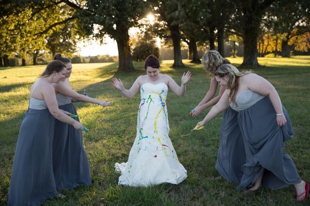 A pesar que el prometido decidió cancelar la boda, la sesión de fotos de ésta fue de lo más genial 01