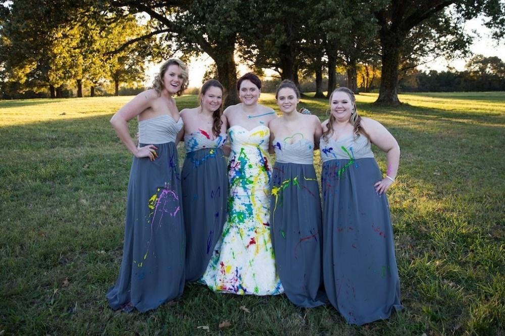A pesar que el prometido decidió cancelar la boda, la sesión de fotos de ésta fue de lo más genial 06