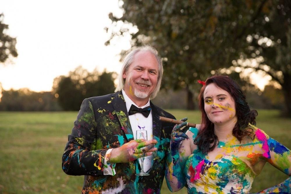 A pesar que el prometido decidió cancelar la boda, la sesión de fotos de ésta fue de lo más genial 09