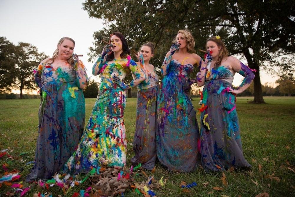 A pesar que el prometido decidió cancelar la boda, la sesión de fotos de ésta fue de lo más genial 14