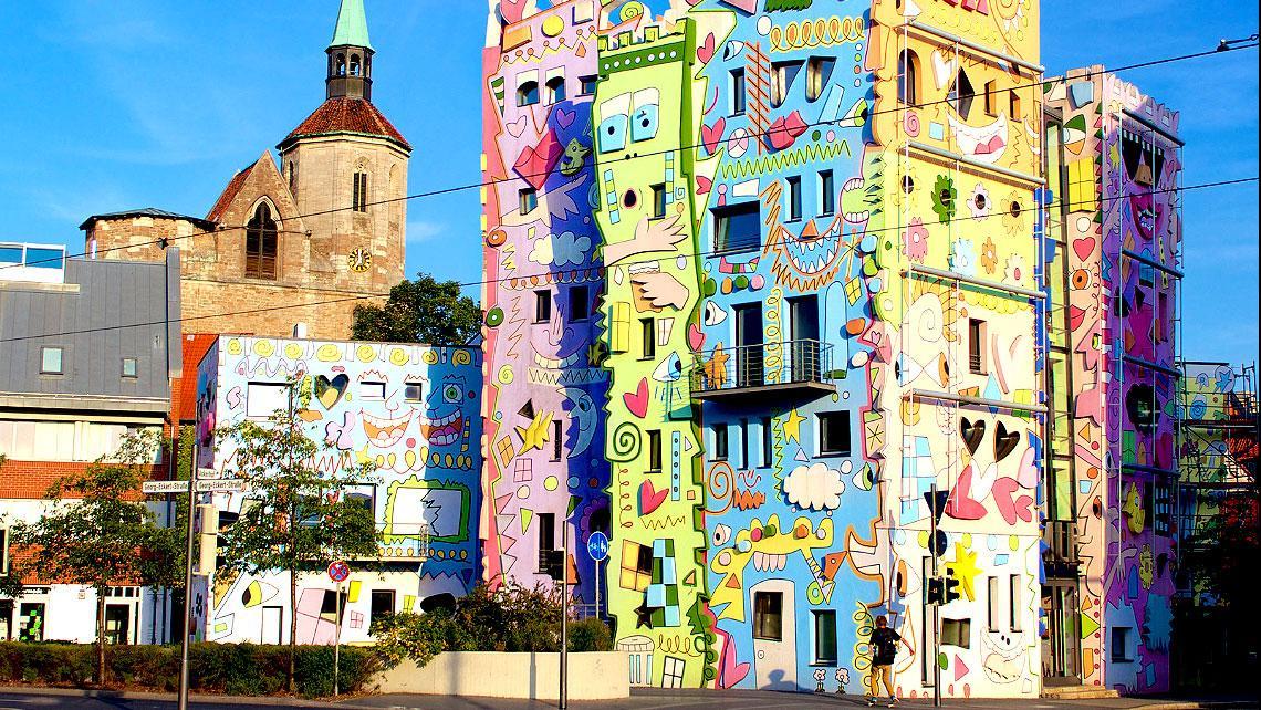 Mira la casa más feliz del mundo: Happy House Rizzi