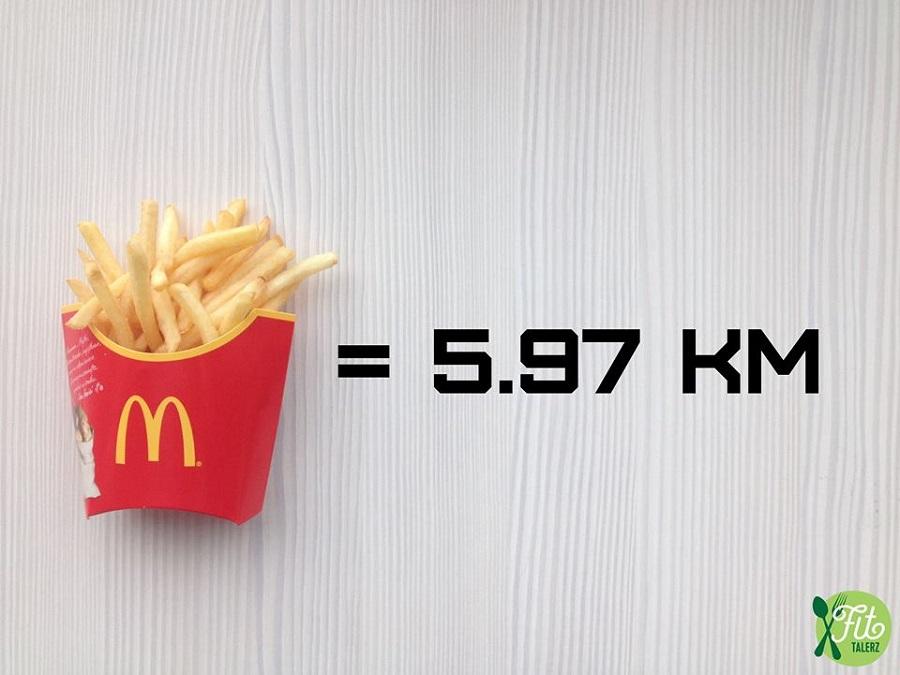 Conoce los kilómetros que tienes que correr para bajar lo que has comido 20