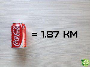Conoce los kilómetros que tienes que correr para bajar lo que has comido