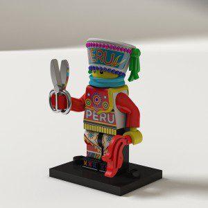 Muñecos de Lego inspirados en Folklore peruano