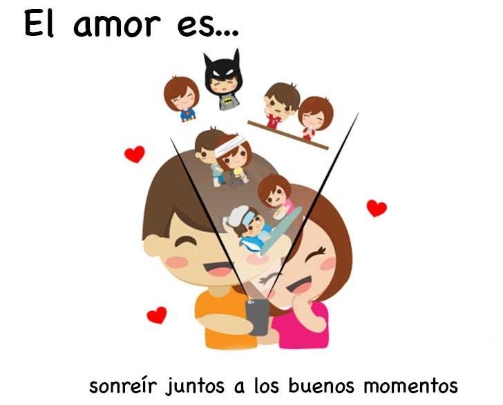 Emotivas ilustraciones que nos muestran el significado de estar enamorados 12