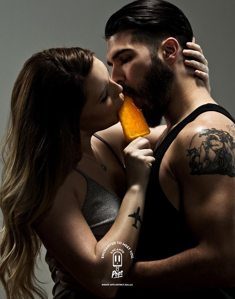Esta publicidad de helados promete encender todos tus sentidos 05
