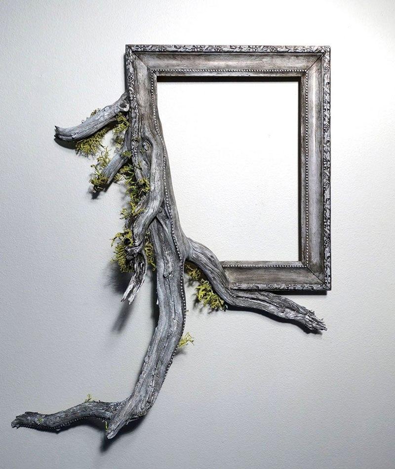 Este hombre construye arte a base de ramas caídas de un árbol 04
