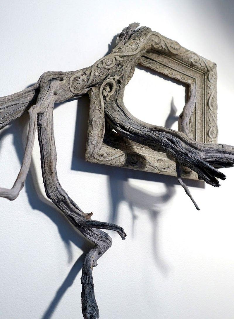 Este hombre construye arte a base de ramas caídas de un árbol 06